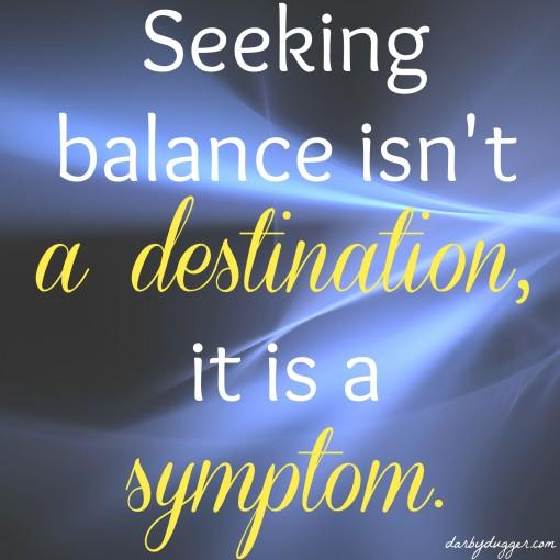 Seeking Balance Darby Dugger