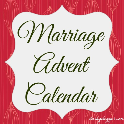 A Marriage Advent Calendar