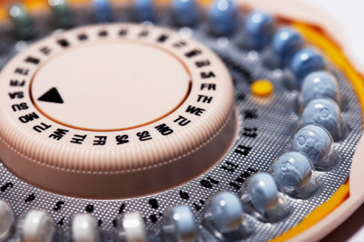Birth Control Pill Container