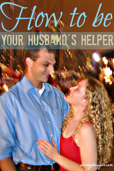 How to be your husband's helper