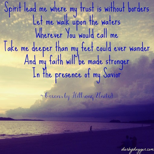 Oceans Lyrics by Hillsong United