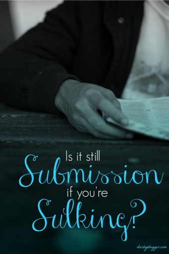 Is it still submission if you're sulking by Darby Dugger