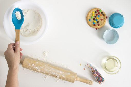 cookie baking.