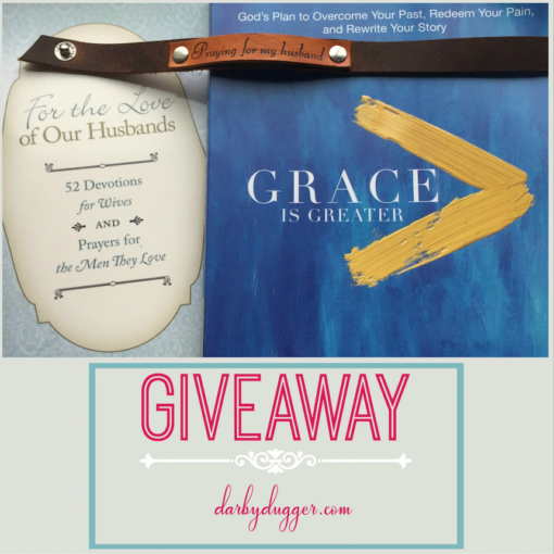 Grace is Greater Giveaway