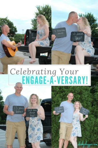 Celebrating Your Engage-a-versary by Darby Dugger